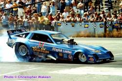 Ray Beadle and the Blue Max FC at NED NHRA D1 WWCS 8.22.82